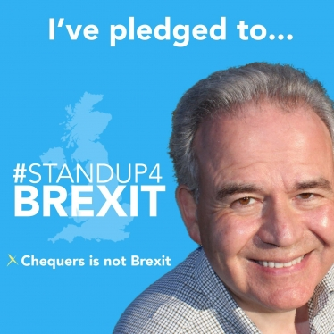 Dr Julian Lewis MP pledges to stand up for Brexit.